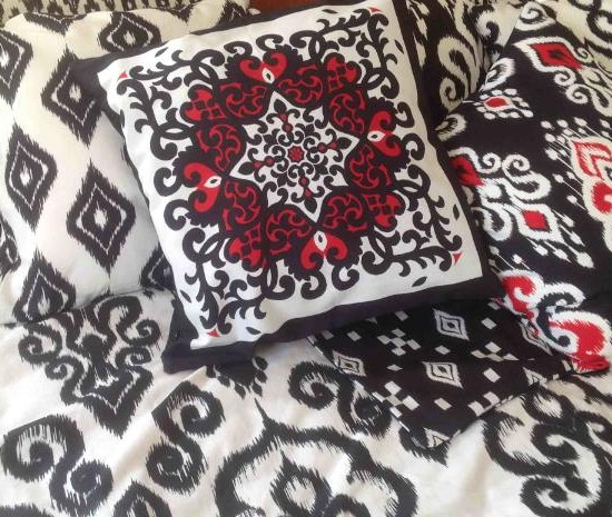 Nomads Altai Ikat Cushions